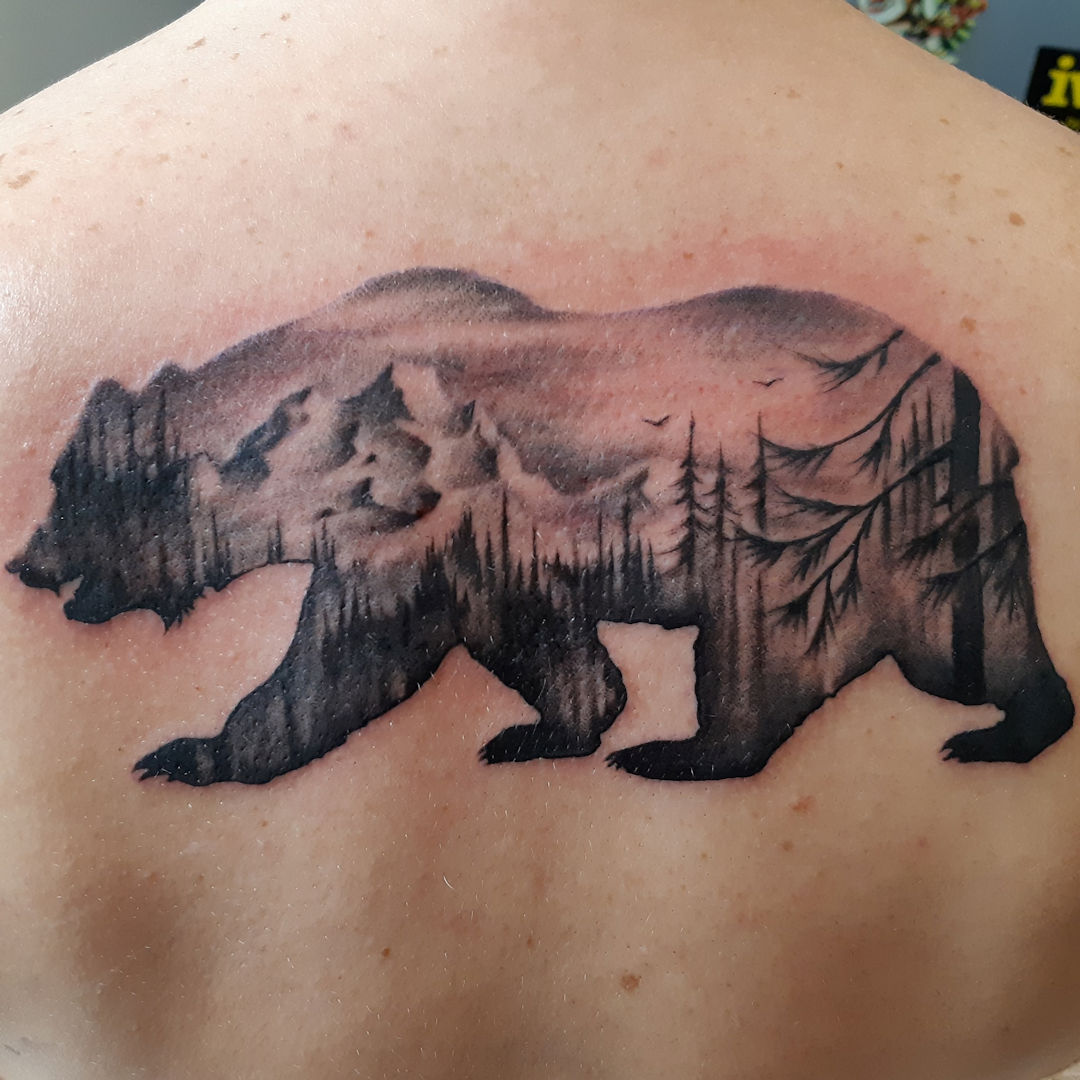 Freehand Bear — Clay Walker