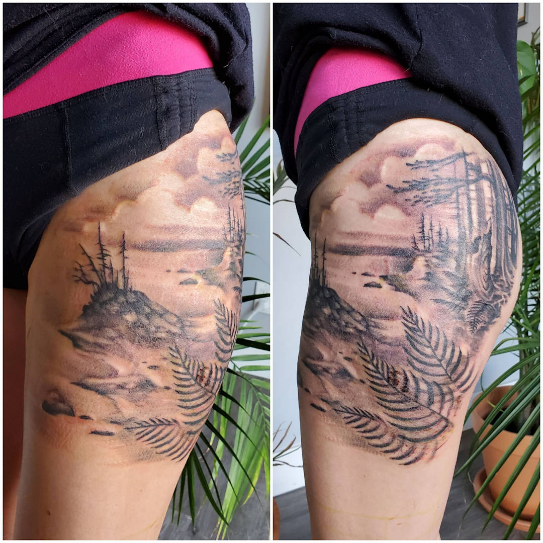 Ocean Inspired Leg Sleeve — Clay Walker