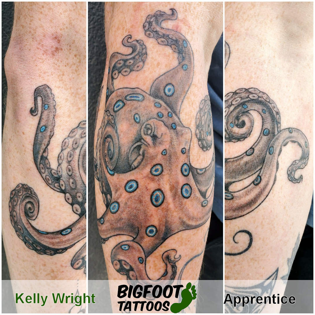 Blue-Ringed Octopus — Kelly Wright