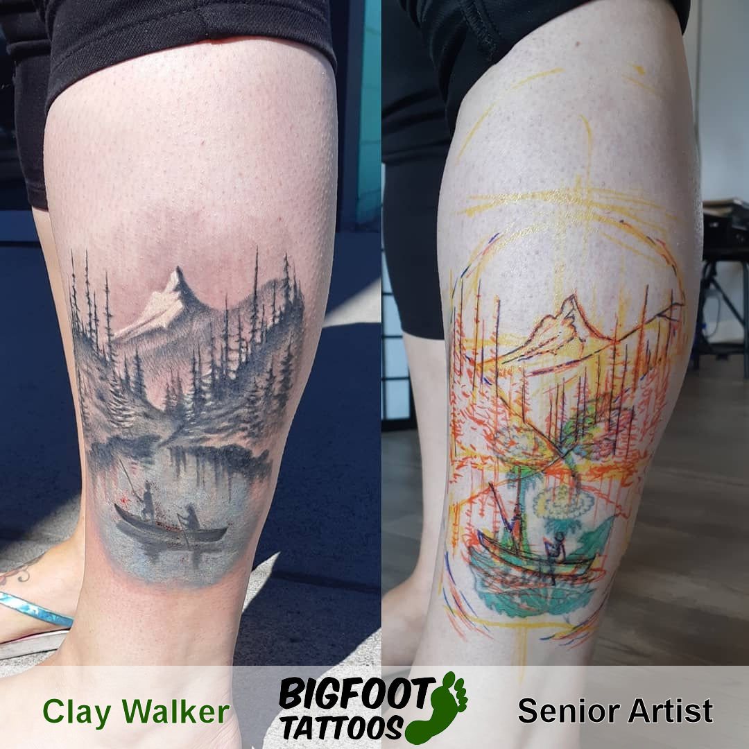 Landscape Coverup — Clay Walker