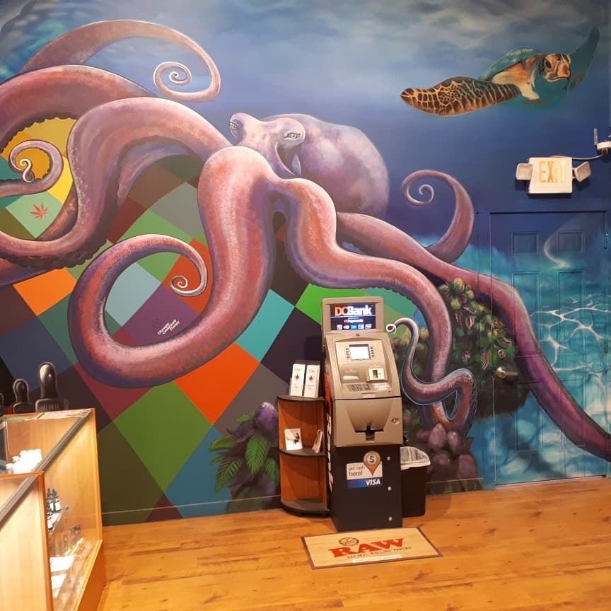 Octopus Mural — Kelly Wright