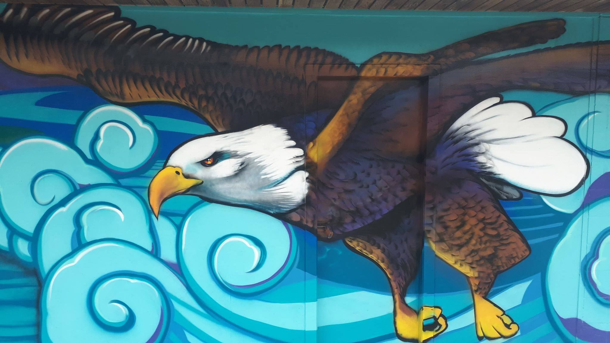 Eagle Mural — Kelly Wright